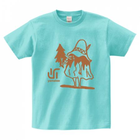 不思議なキャラクターが印象的なTシャツ