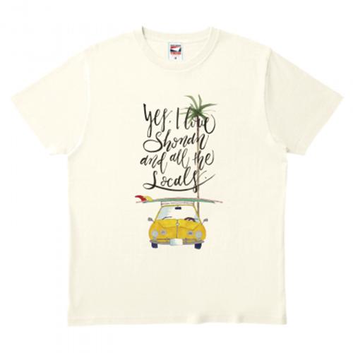 夏を感じるオリジナルTシャツを作成
