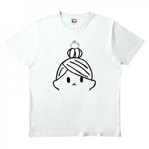 オリジナルイラストのTシャツ