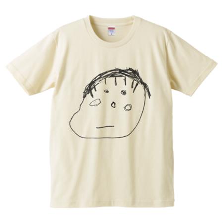 子どものイラストのオリジナルTシャツ