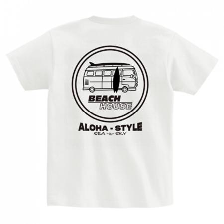 ビーチハウスのオリジナルTシャツ