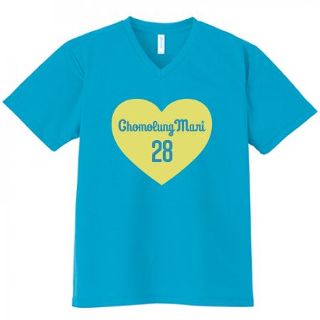 オリジナルデザインのドライTシャツ