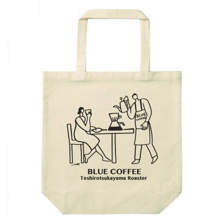 のどかなコーヒー屋さんのお洒落なオリジナルトートバッグ