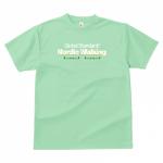 ノルディックウォーキング用のオリジナルチームTシャツ