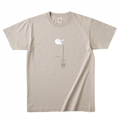 爽やかなイラストのオリジナルTシャツ