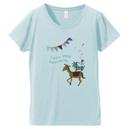農場にいる動物をデザインしたオリジナルTシャツ