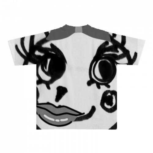 オリジナルデザインで全面プリントのTシャツ