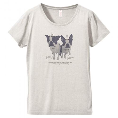 愛犬写真のプリントTシャツ