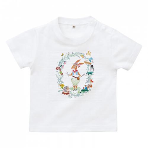 オリジナルキャラクターのベビーTシャツ