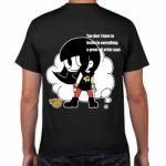 オリジナルキャラクターのプリントTシャツ
