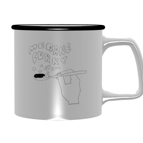 カレー屋さんのオリジナルマグカップ