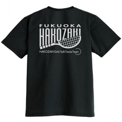 ソフトテニスチームのオリジナルドライTシャツ