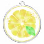 レモンをそのままキーホルダーにプリント!