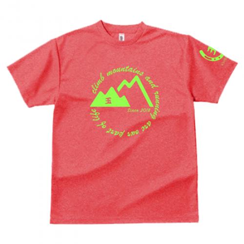 山岳サークルのオリジナルTシャツ