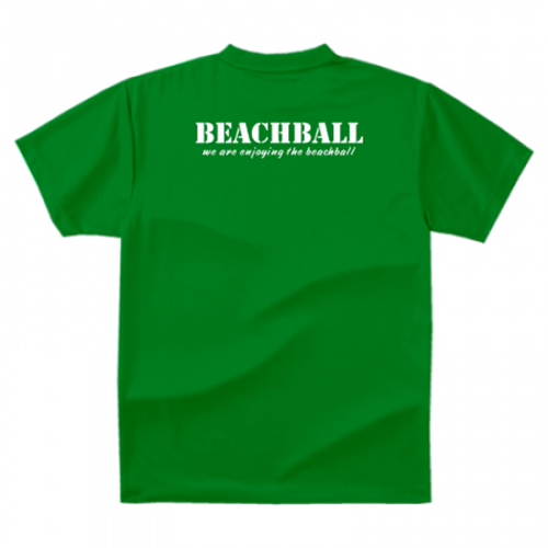 ビーチボールチームのオリジナルTシャツ