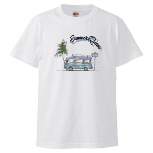 夏の雰囲気をプリント!オリジナルイラストTシャツ