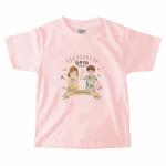誕生日に兄弟おそろいのオリジナルTシャツを作成!