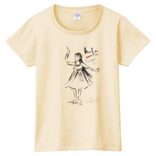 フラサークルのオリジナルチームTシャツ