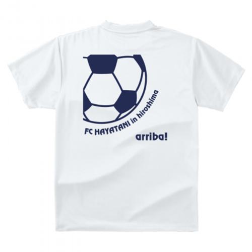 サッカーチームの練習用Tシャツを作成