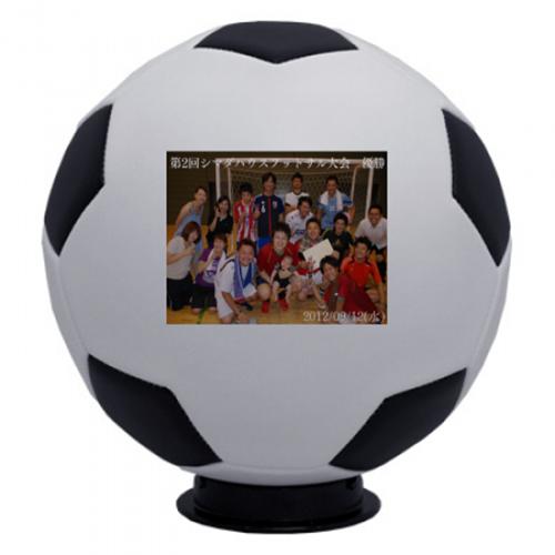フットサル大会の優勝記念品にサッカーボール
