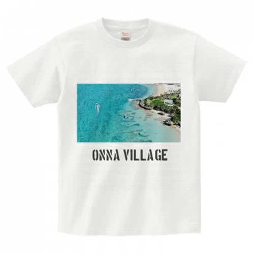沖縄の海の写真をプリント!爽やかなオリジナルTシャツ