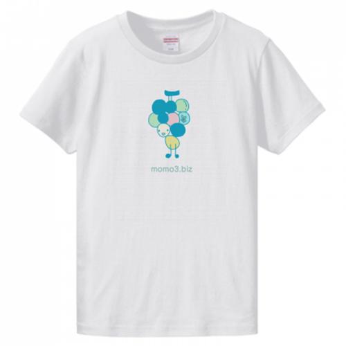 ぶどうのオリジナルキャラがかわいいプリントTシャツ