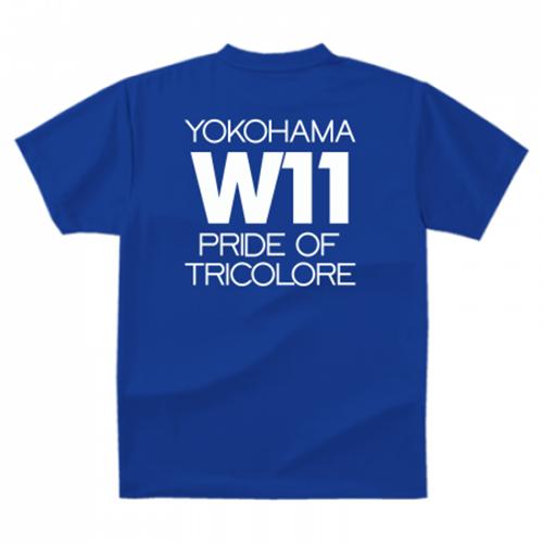 横浜のサッカーチームの応援団Tシャツ