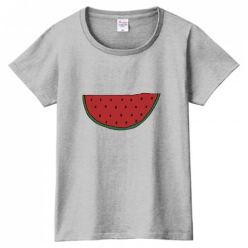 夏が待ち遠しい!スイカのプリントTシャツ