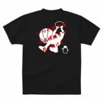 熱いメッセージをプリントしたバスケットボールのチームTシャツ