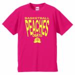 オリジナルのロゴがキュートなチームTシャツ