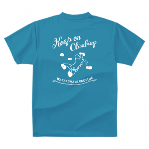 山岳クラブのオリジナルTシャツを作成