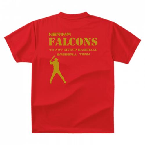 少年野球チームのオリジナルTシャツ