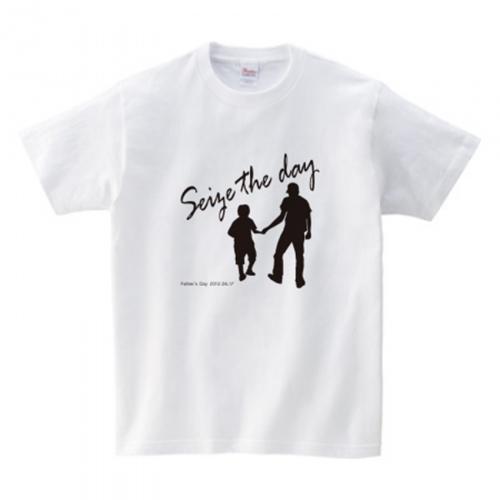 子供用に親子デザインのオリジナルTシャツを作成