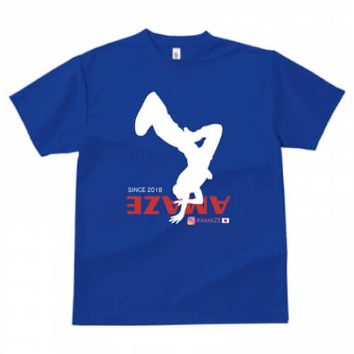 シルエットプリントがカッコいいダンスチームTシャツ