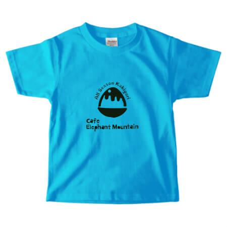 かき氷カフェのオリジナルTシャツ