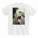 帰省の思い出写真でオリジナルTシャツを作成
