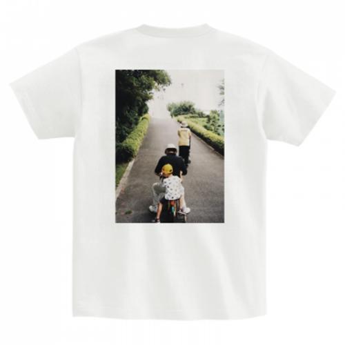 帰省の思い出をプリントしたオリジナルTシャツ