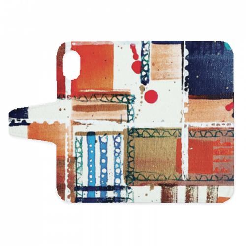 絵画タッチのオリジナル手帳型スマホケース