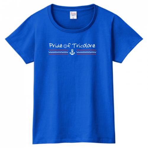 爽やかなマリノスサポーターの応援オリジナルTシャツ