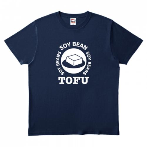 ロゴがかわいい!豆腐がポイントのオリジナルTシャツ