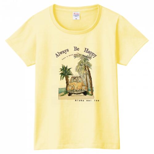アメカジ風ビーチデザインをプリント♪オリジナルTシャツ