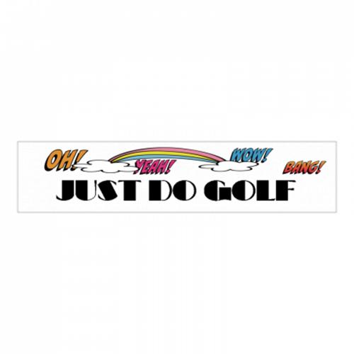 ゴルフで大活躍!ショップロゴをプリントしたクールマフラータオル
