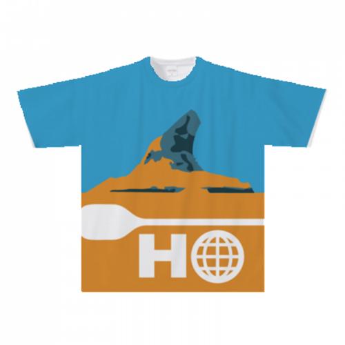 サマースクールのオリジナル全面プリントTシャツ