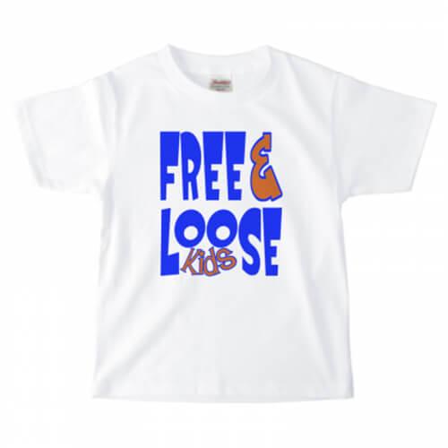 ポップなデザインをプリントしたオリジナルのキッズTシャツ
