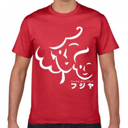 シンプルで目を引く店舗オリジナルTシャツ
