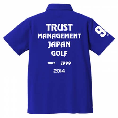 ゴルフ大会のオリジナルポロシャツ