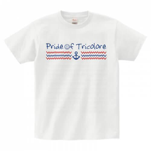 マリンテイストのサポーターオリジナルTシャツ