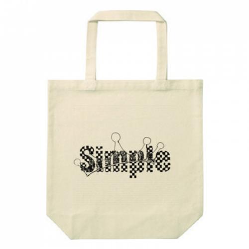 シンプルデザインのオリジナルトートバッグ