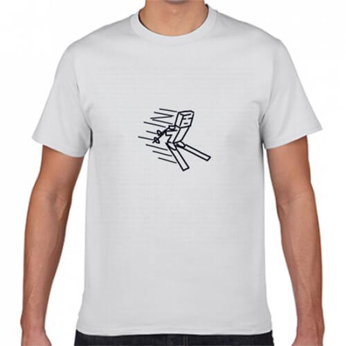 ワンポイントのキャラがかわいいオリジナルTシャツ