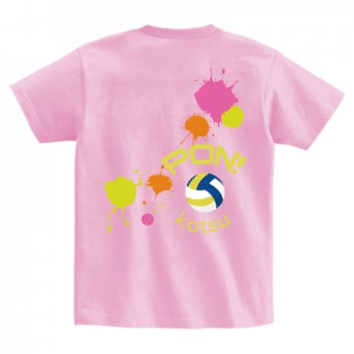 バレーボール部のオリジナルTシャツを作成!